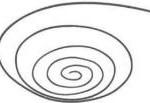 piccola spirale per testo