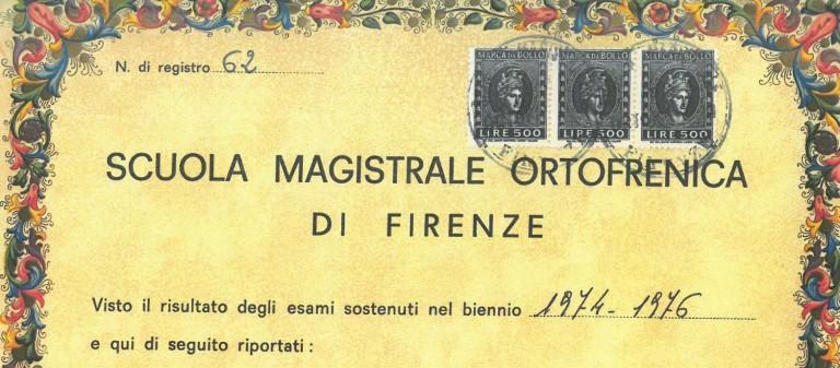 Scuola Magistrale Ortofrenica di Firenze